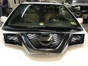 2014 2016 Nissan Rogue Main Grille W Out Emblem Oem Part 623105ha0a