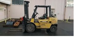 2008 Cat Caterpillar Gp40kl 9000 Lb Forklift Propane Lift Truck