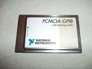 Nice Pre owned National Instruments Ni Pcmcia gpib Interface Card 186736c 01