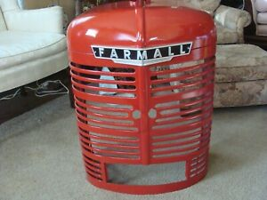 International Ih Farmall Tractor Nose Front M Super M Md Grille Grill Refurbishe