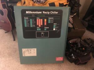 York Millennium Recip Chiller Control Panel Complete