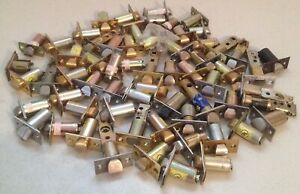 Lot Of 63 Used Door Latches Single Point Deadbolt Schlage Corbin Unmarked