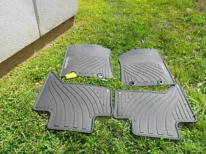 2012 2014 Toyota Tacoma Double Cab All Weather Floor Mats 4pc Pt908 35122 20