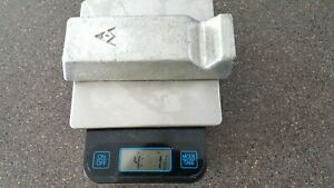 4lbs Tin sn Metal Ingot 99 9 Pure A m Foundries Jewelry Solder Bullets