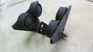 Ford Chain Block 1 2 Ton 1000lb I Beam Roller Bearing Trolley
