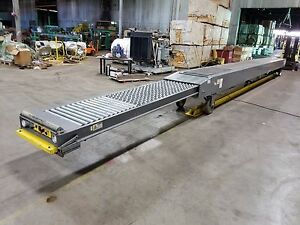 Maxx Boom Mb35 45 Portable Extendable Power Belt Loading Conveyor 45 Can Ship
