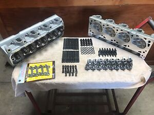 Ford Top End Kit 429 460 557 532 New Aluminum Cylinder Heads 750 Lift 95cc