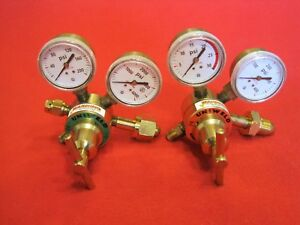 Welding Regulators Uniweld Oxygen Acetylene Torch Next Day Shipping