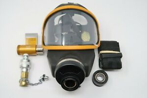 Msa 10104498 Ultravue Complete Assembly Airline Respirator Gas Mask L Large