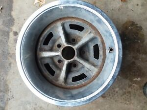 69 73 Ford 14x7 Magnum 500 Rally Wheel Mustang Torino Gt Ranchero Dodge Amc