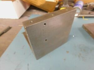 Angle Plate 6 X 6 X 6 Ground Cast Iron 1 0 Thick