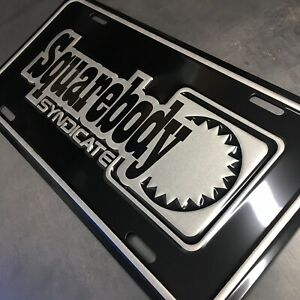 Limited Edition 1973 87 Squarebody Syndicate License Plate For Chevy Gmc Trucks