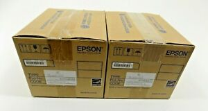 Lot 2 Epson Tm m10 022 C31ce74002 Compact 2 Thermal Receipt Printer Usb