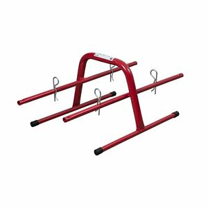 Electrical Wire Spool Hand Caddy Steel 8 Reel Holder Storage Conduit Cable Rack