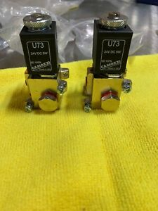 Camozzi U73 Coil 24vdc 5w W valve new Lot Of 2