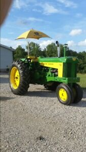 1959 John Deere 730 Tractor Loaded