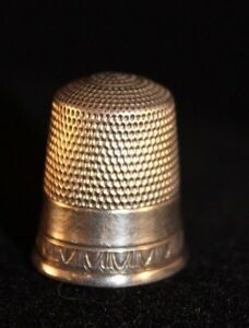 Simon Brothers Sterling Silver Thimble Size 10