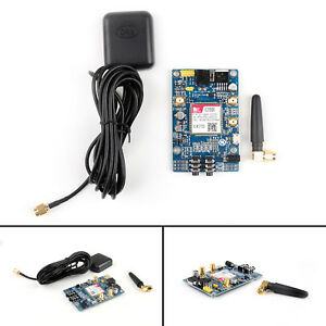 Sim808 Module Gsm Gprs Gps Development Board Antenna For Arduino Raspberry Pi Ue