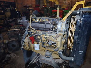 Caterpillar 3204 Di Diesel Engine Video Rare Runner Cat 943 D3c It12