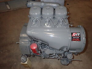 Deutz F3l912 Diesel Engine Fully Rebuilt Fresh Reman 912 Vermeer Ingersoll Rand