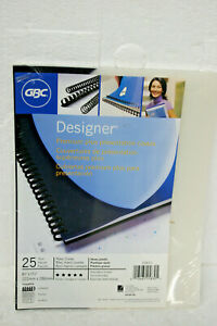 Gbc Designer Navy Curve Presentation Covers 8 75 X 11 25 Navy Blue With Clear
