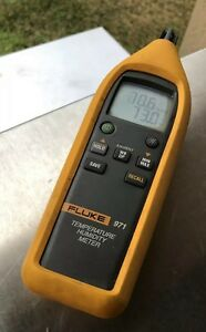 Fluke 971 Temperature Humidity Meter Free Shipping