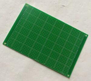 1pc Single Side Fr 4 Pcb Prototyping Perf Board Breadboard Diy 8x12cm 80x120mm