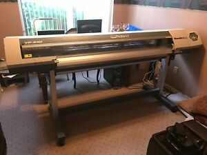 Roland Versacamm Vp 540 Eco Solvent Printer cutter plotter 54 Wide Format