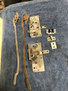 1935 1936 Ford Pickup Door Latch And Handle Remote