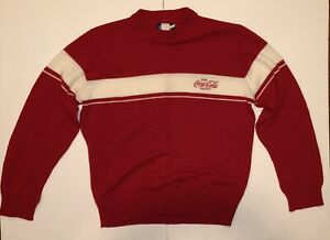 VTG Coca Cola Mens Sweater The Knit Shirt Exchange XL
