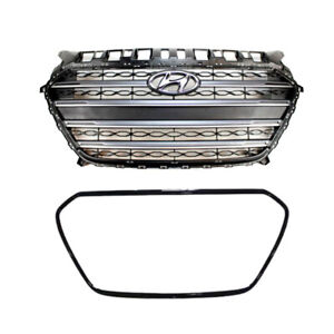 Oem Parts Front Radiator Hood Grille Assy For Hyundai Elantra Gt 2013 2016