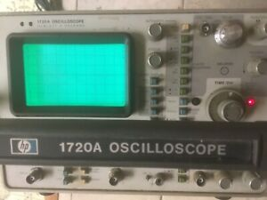 Oscilliscope Vintage Hp 1720a Powers Up Great Price