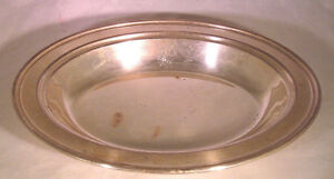 Vintage Excelsior Copper On Silver Platter