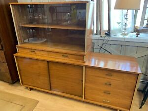 Mid Century Modern Paul Mccobb Era Credenza Sideboard With Shelf