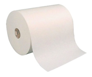 White Hard wound Roll Paper Towel 800 roll 6 Rolls case