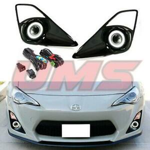 For 12 16 Scion Fr s Toyota Gt86 Halo Projector Fog Lights Driving Lamps switch