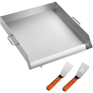 18 X 16 Stainless Steel Griddle Flat Top Grill For Triple Griddle Cookware