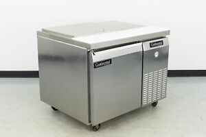 Used Continental Crb42 9m 42 1 Door Refrigerated Sandwich Prep Table