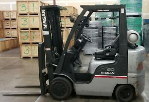Used Nissan Forklift cf50 5000lbs Capacity