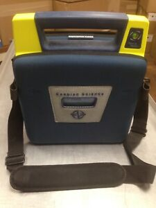 Cardiac Science Powerheart G3 Aed Automatic W Battery Pads Case 9300e 101