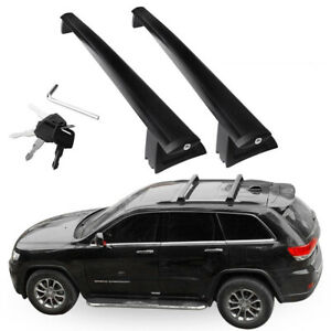 Roof Rack Cross Rails Bars Luggage Carrier For 2011 2018 Jeep Grand Cherokee S
