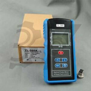 All in one Fiber Optical Power Meter 1mw Visual Fault Locator Tl 560 New