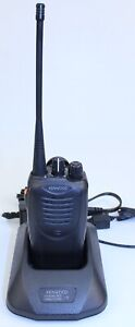 Kenwood Tk 3160 Uhf Two Way Radio W Charger And Power Supply Tested