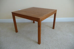 Vejle Stole Og Mobelfabrik Danish Modern Teak End Table