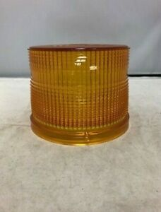 Whelen 4 5 Dms Amber Replacement Dome For Multiple Series Strobe Beacon