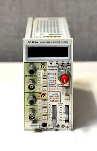 Tektronix Dc505a Universal Counter timer 225mhz For A Tm5003