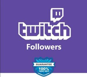 Twitch Followers And Views Cheap 100 Safe