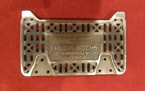 Theo A Kochs Antique Barber Chair Low Footrest Part 494