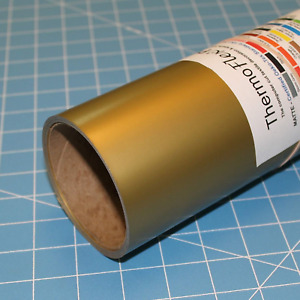 Old Gold Thermoflex Plus 15 X 15 Roll Heat Transfer Vinyl