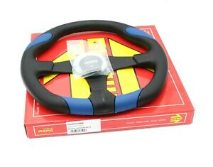 Momo Steering Wheel Quark Blue Polyurethane 350mm Tuning Sport Racing